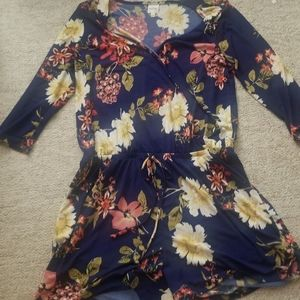 Kaileigh floral jumpsuit